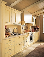 cucina laccata avorio