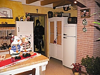 cucina massiccia country laccata
