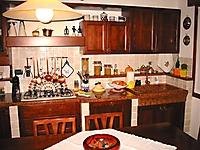cucina muratura noce nazionale