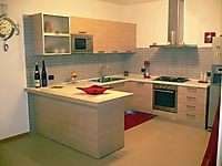 cucina laminato rovere naturale