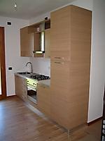 cucina legno rovere naturale