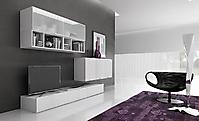 soggiorno porta tv bianco