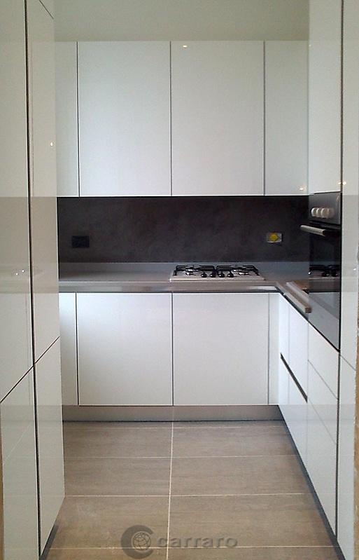 Prodotti categoria cucine moderne immagine cucina - Cucina bianco lucido ...
