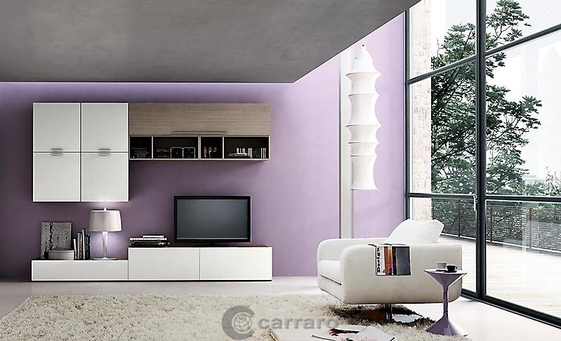 Prodotti - Categoria: Zona giorno - Immagine: mobile porta tv bianco e rovere grigio ...