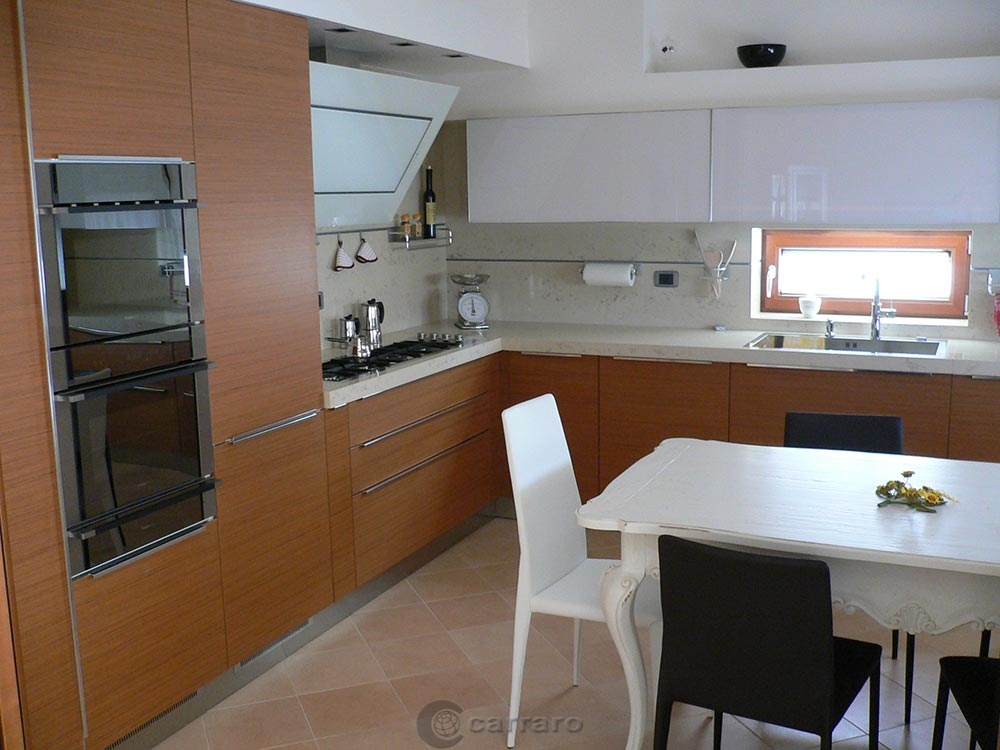 Prodotti - Categoria: Cucine moderne - Immagine: cucina teak ...